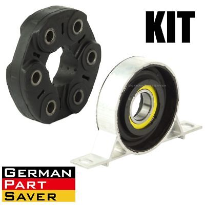 Used, For BMW 3 Series Z4 E46 Driveshaft Center Carrier Bearing Support Flex Disc Kit for sale  Phoenix