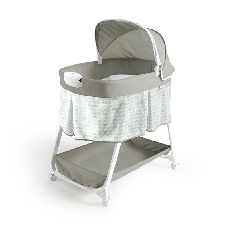 Ingenuity Snuggity Snug Soothing Vibrations Bassinet Newborn Baby 12053  0M-5M