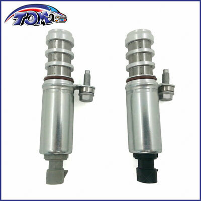 Engine Variable Valve Timing (VVT) Solenoid Intake&Exhaust Set For GMC Buick