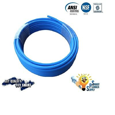 12 X 100 Ft Blue Pex Tubing For Water Supply With 25 Years Warranty