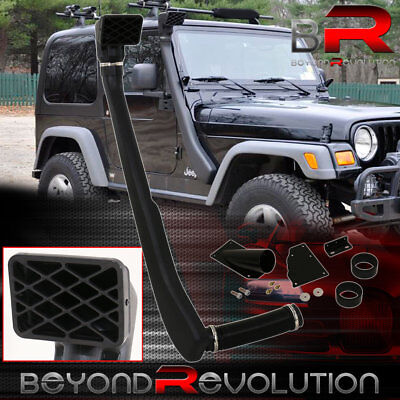 Off Road Snorkel Ram Air Intake System for the Jeep Wrangler TJ YJ of 1992-2006