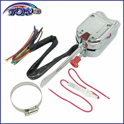 NEW CHROME 12V UNIVERSAL STREET HOT ROD TURN SIGNAL SWITCH FOR FORD GM BUICK  New Gm Turn Signal Switch