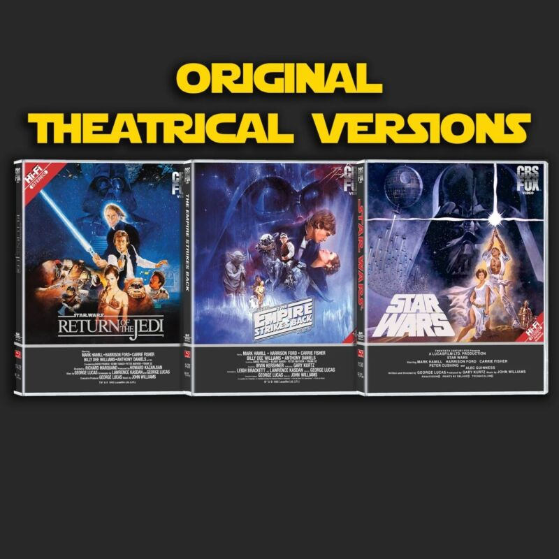 Star Wars Despecialized Trilogy Custom Blu-Ray Artwork - Project 4K77 4K83