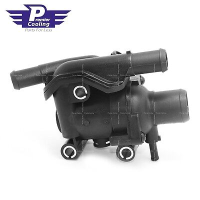 ENGINE COOLANT THERMOSTAT/WATER OUTLET HOUSING FOR 00-04 FORD FOCUS 2.0L-L4