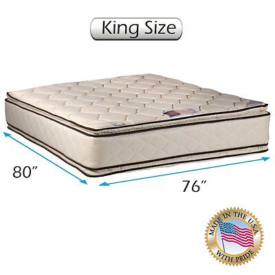 Coil Comfort Pillowtop King Size (76