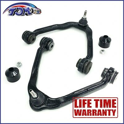 New Front Upper Control Arms Pair Fit Chevy Silverado Sierra Suburban 1500 Tahoe