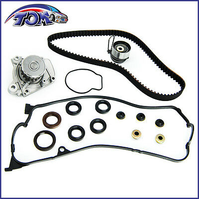 NEW TIMING BELT KIT WATER PUMP VALVE COVER GASKET FOR 01-05 HONDA CIVIC 1.7L - Honda Timing Cover Gasket