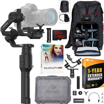 DJI Ronin-S Handheld Gimbal Essentials Kit for Mirrorless & DSLR Cameras Bundle