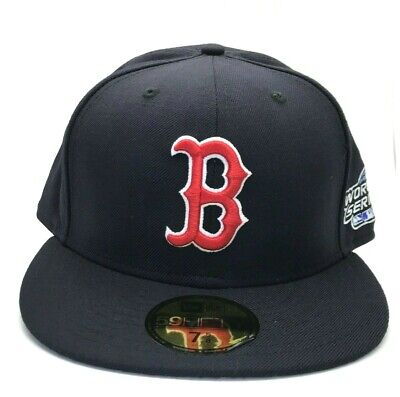 Boston Red Sox 2004 World Series 59FIFTY New Era MLB Navy Blue Wool Fitted Cap