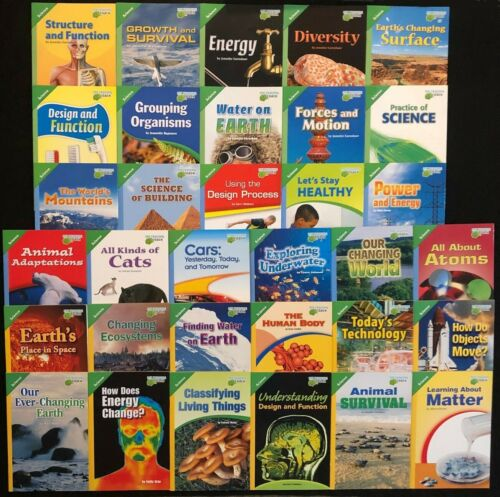 5th Grade SCIENCE Curriculum Readers (33 books) - Teachers/Homeschoolers/Tutors