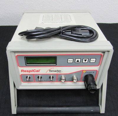 Allied Respical Timeter T300 Calibration Analyzer Oxygen Flow Pressure