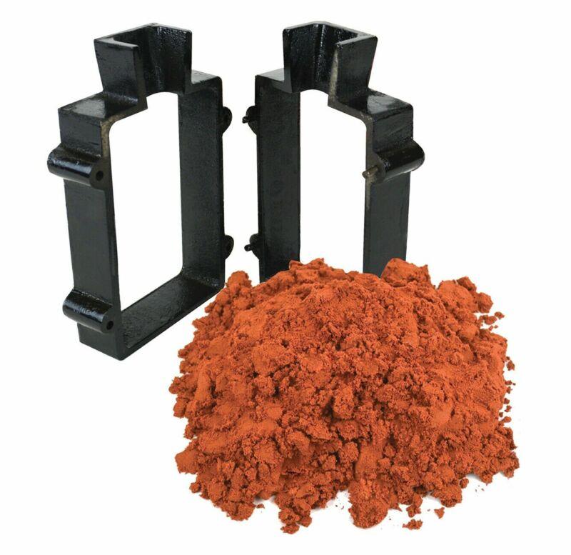 10 Lbs Petrobond Quick Cast Sand Clay Cast Iron Mold Frame Melt Metals Set