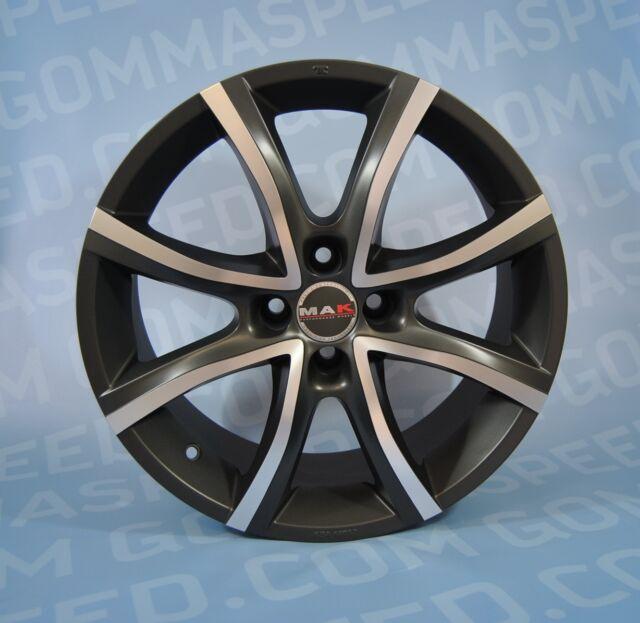 Set 4 alloy wheels Mak Nitro from 16 4x108ET38Ford Fiesta Fusion B-Max, Mazda 2