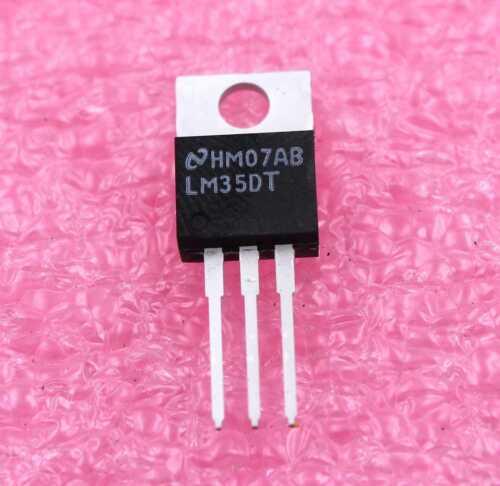 LM35DT TO-220 Precision Centigrade Temperature Sensor