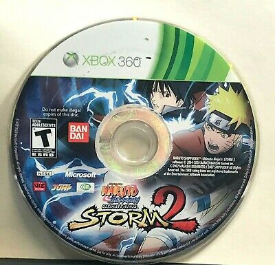 Naruto Shippuden: Ultimate Ninja Storm 2 (XBOX 360) DISC ONLY 2416, used for sale  Shipping to Nigeria