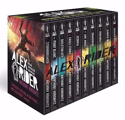 Alex Rider: The 10-Book Collection Box Set [10 Books] by Anthony Horowitz ✔NEW✔