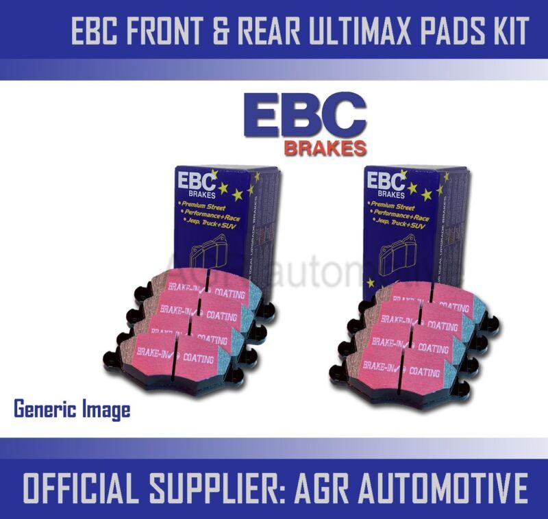 EBC FRONT + REAR PADS KIT FOR LEXUS GS250 2.5 2012-