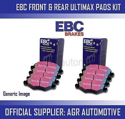 EBC FRONT  REAR PADS KIT FOR CHEVROLET CRUZE 20 TD 150 BHP 2009 12 OPT2