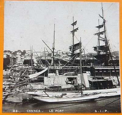 Photo stereo sip cannes  le port grands voiliers yachts s463