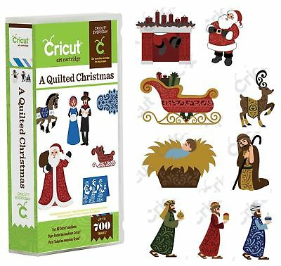 Cricut Cartridge A QUILTED CHRISTMAS New & Sealed