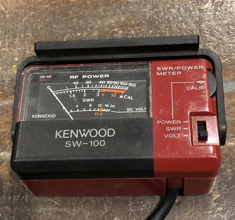 Kenwood SW-100 SWR & Power Meter