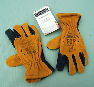 SHELBY FDP Firefighter Gloves  (size x-Small)