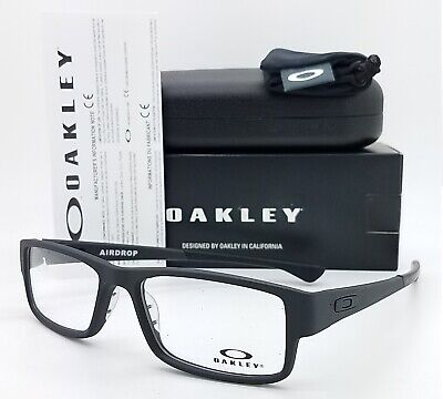 NEW Oakley Airdrop RX Optical Frame Satin Black OX8046-0157 57mm AUTHENTIC 8046