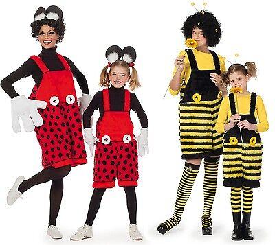Biene Marienkäfer Minnie Mouse Maus Kostüm Bienekostüm Käferkostüm Fee - Marienkäfer Fee Kostüm