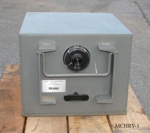 Mobile Military Safe - Mosler Single Drawer File Safe