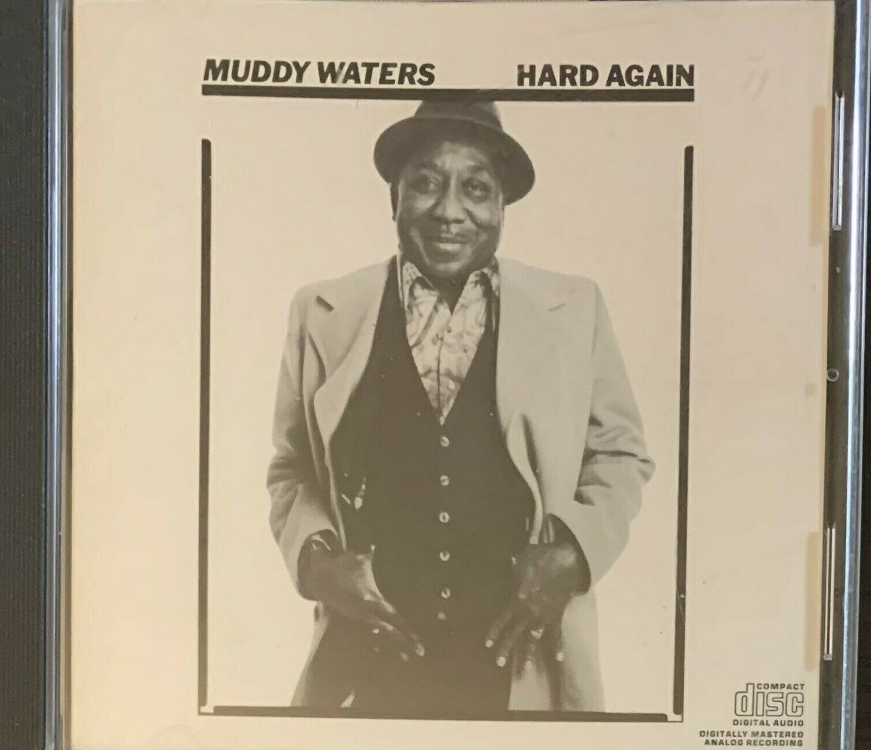 Muddy Waters Hard Again CD Johnny Winter BLUES  - $9.99