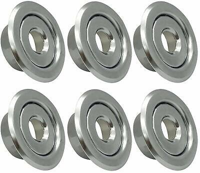 12 Ips Fire Sprinkler Head Semi-recessed Escutcheon Two Piece Cover R 6 Pack