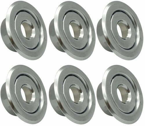 """1/2"""" IPS Fire Sprinkler Head Semi-Recessed Escutcheon Two Piece Cover R (6 Pack)"""