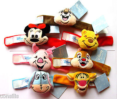 Disney characters themed wrist or foot rattle for baby, vibrant educational toys
