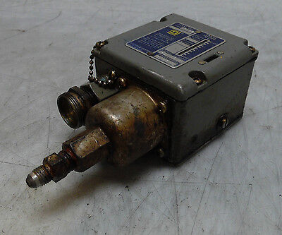 Square D Pressure Switch Class 9012 Type ACW28, Used, WARRANTY