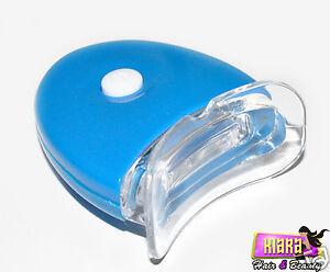 Faster Teeth Whitening Plasma LED Blue Light Lamp Accelerator Dental Whiter UK