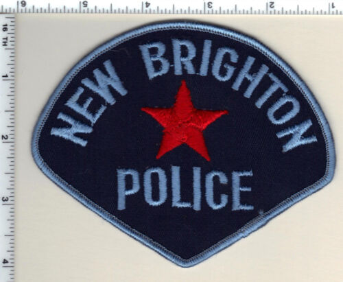 New Brighton Police (Minnesota) Shoulder Patch new from 1975 - VERY RARE