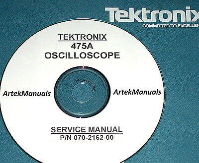 Tektronix Operating Service Manual For 475a Oscilloscope