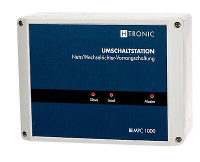 MPC1000, Wohnwagen Bordnetzumschaltung zwischen Wandler und 230V Netz!