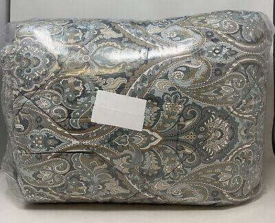 Pottery Barn Blue Mackenna Percale Comforter King/Cal. King(AMi)