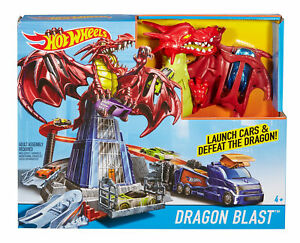 Spielzeugautos & Zubehör DWL04 Mattel Hot Wheels Drachen Atacke Spielset günstig kaufen