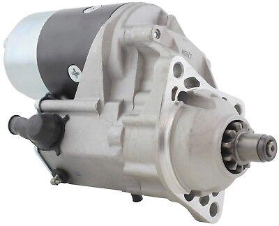 New Starter Bobcat 753 7753 751f 763c W Kubota V2203 12v 11tooth 228000-5810