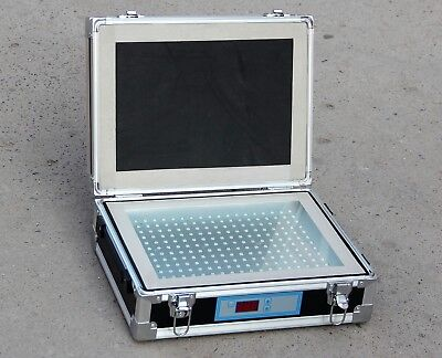 Single Side Uv Light Exposure Machine Photosensitive Plate Pcb Exposure Box 220v