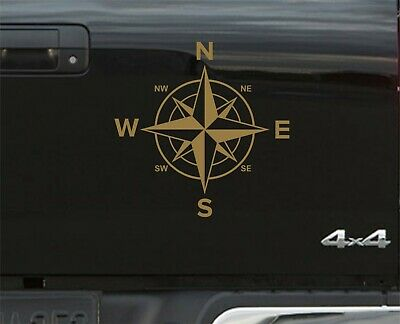 Gold Compass Navigation STICKERS DECAL GRAPHICS