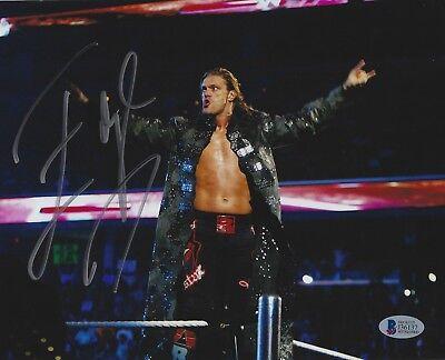 Edge 8x10 Foto (Edge Signiert Wwe 8x10 Foto Bas Beckett COA Wrestling Superstar Bild Autogramm)