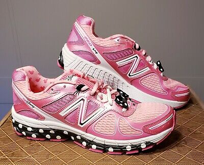 New Balance 860 V4 DISNEY RUN MINNIE MOUSE SHOES SIZE 11.5 US W/BOWS