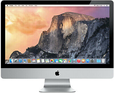 Apple iMac 27 Desktop Intel Core i5 3.10GHz 16GB RAM 1TB HDD MC814LL/A