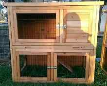 DOUBLE STORY HUTCH MINI LOP PACKAGE DEALS QUALITY MADE HUTCHES Londonderry Penrith Area Preview
