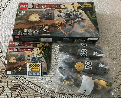 LEGO 70610 The Ninjago Movie Flying Jelly Sub (NO MINIFIGURES)