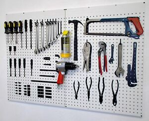 Настенный щит для инструментов своими руками