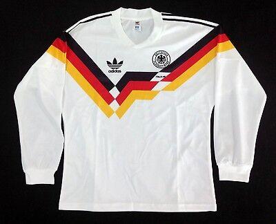 - GERMANY HOME RETRO SHIRT WORLD CUP 1990 LS, MATTHAUS, VOLLER, Sizes S XL 234XL